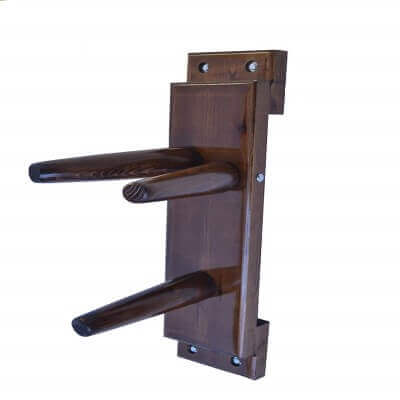 Wooden Dummy Plane Walnut Color