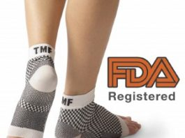 Treat My Feet Edema Relief Orthopedic Socks