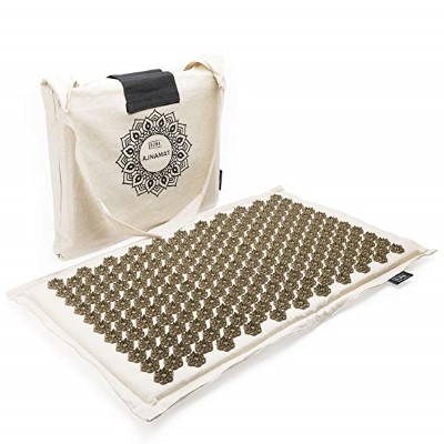 Ajna Wellbeing Natural Cotton Acupressure Mat
