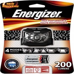 ENERGIZER HIGH PERFORMANCE LED HEADLAMP