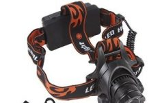 WindFire 1800 Lumens CREE XM-L T6 U2 LED Headlamp