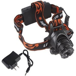 WindFire 1800 Lumens CREE XM-L T6 U2 LED Headlamp